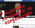 Censura della libertà di espressione su Facebook e potrebbe accadere anche a te